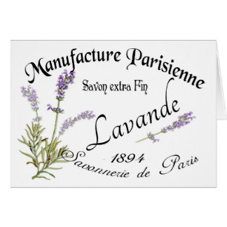 Vintage Lavender Cards