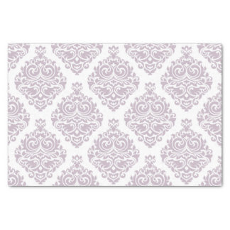 Vintage, lavender,damask,trendy,girly,cute,chic, tissue paper
