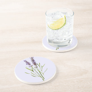 Vintage Lavender no2 Beverage Coasters