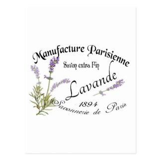 Vintage Lavender Postcards