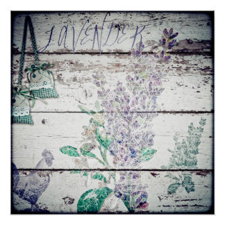 Vintage Lavender Poster Paper (Semi-Gloss)