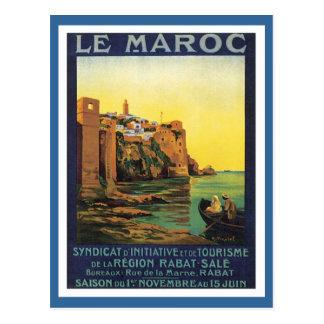 Vintage Le Maroc Morocco Postcard