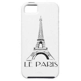 vintage le paris eiffel tower iPhone 5 case