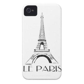 vintage le paris eiffel tower iPhone 4 cover