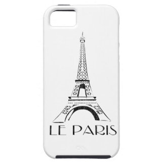 vintage le paris eiffel tower iPhone 5 cases
