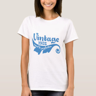 Vintage LEAF aged to perfection 1985 blue T-Shirt