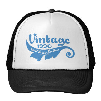 Vintage LEAF aged to perfection 1990 blue tshirt Cap