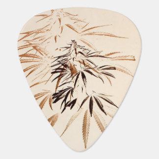 Vintage Leaf Guitar Pick