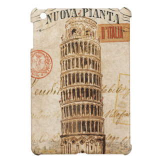 Vintage Leaning Tower of Pisa Case For The iPad Mini