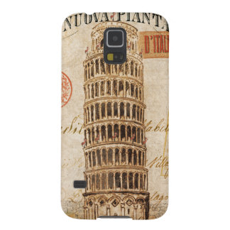 Vintage Leaning Tower of Pisa Galaxy S5 Cover