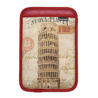 Vintage Leaning Tower of Pisa iPad Mini Sleeve