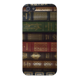 Vintage Leather Bound Classic Books iPhone 5 Case