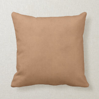 Vintage Leather Brown Antique Paper Template Blank Cushions