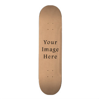 Vintage Leather Brown Parchment Paper Background Skateboard