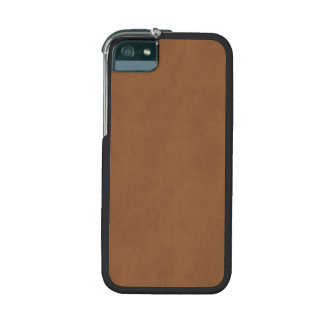 Vintage Leather Brown Parchment Paper Template iPhone 5 Cases