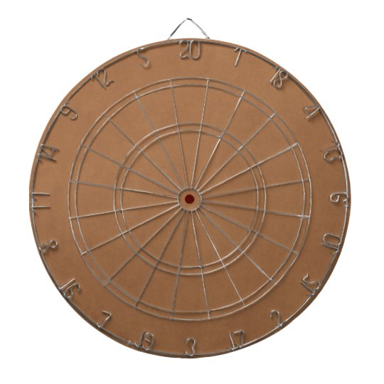 Vintage Leather Brown Parchment Template Blank Dartboard