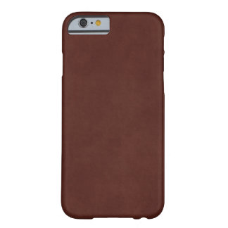 Vintage Leather Tanned Brown Parchment Paper Barely There iPhone 6 Case