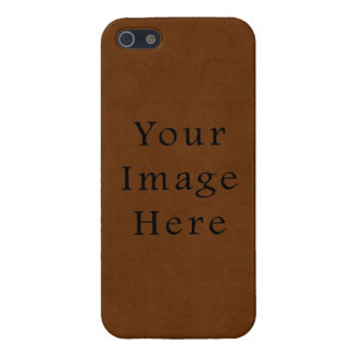 Vintage Leather Tanned Brown Parchment Paper Case For The iPhone 5