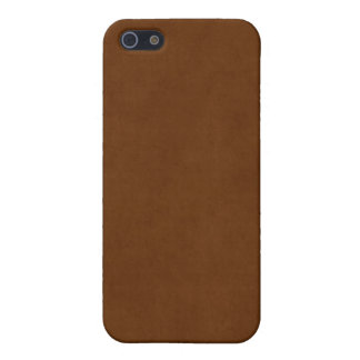 Vintage Leather Tanned Brown Parchment Paper iPhone 5/5S Case