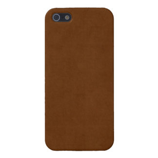Vintage Leather Tanned Brown Parchment Paper iPhone 5/5S Covers