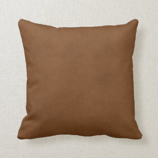Vintage Leather Tanned Brown Parchment Paper Templ Throw Cushions