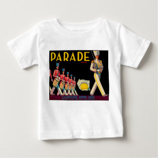 Vintage Lemon Design T-shirt