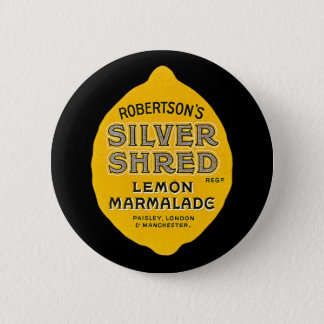 Vintage Lemon Marmalade Label 6 Cm Round Badge