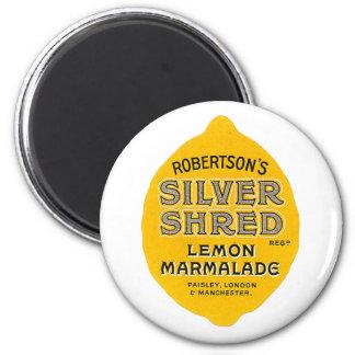 Vintage Lemon Marmalade Label Magnet