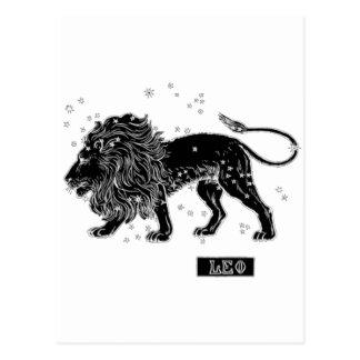 Vintage Leo Postcard