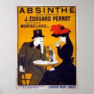 Vintage Leonetto Cappiello Absinthe Ad Poster