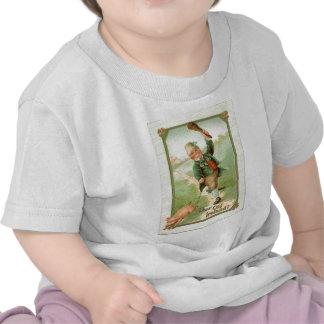 Vintage Leprechaun Pig Shillelagh St Patrick's Day T-shirts
