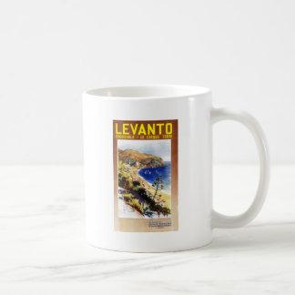 Vintage Levanto Genova Italy Tourism Coffee Mug