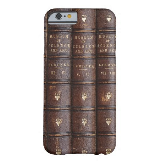 Vintage Library Books Effect iPhone 6 Case