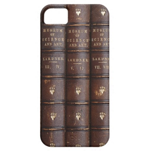 Vintage Library Books Effect iPhone 5 Case iPhone 5 Cover