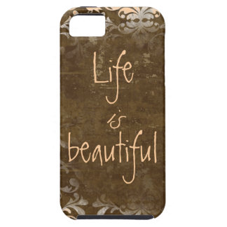 Vintage Life is Beautiful iphone 5 Case