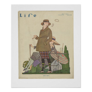 Vintage Life Magazine Poster August 19, 1920