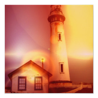 Vintage Lighthouse Invitation