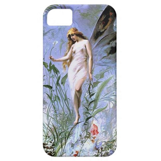 Vintage Lily Fairy iPhone 5 Covers