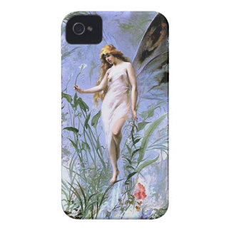 Vintage Lily Fairy iPhone 4 Cover