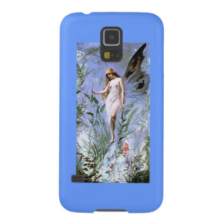 Vintage Lily Fairy Galaxy S5 Cases