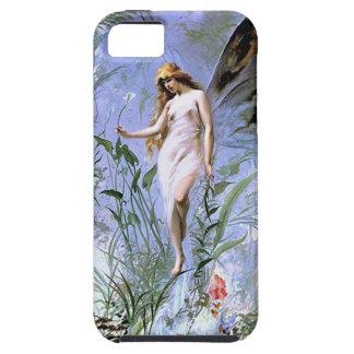 Vintage Lily Fairy Tough iPhone 5 Case