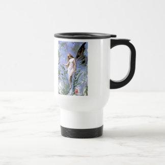 Vintage Lily Fairy Travel Mug