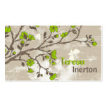 Vintage lime green flowers floral grunge taupe