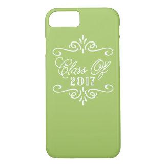 Vintage Lime Green | Graduation iPhone 8/7 Case