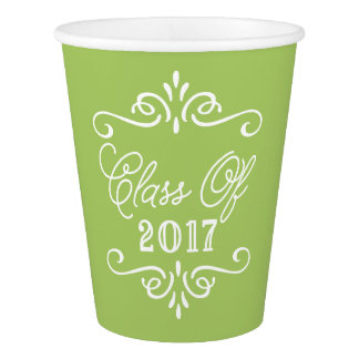 Vintage Lime Green | Graduation Paper Cup