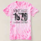 Vintage Limited Edition 1976 40th Birthday Tie-Dye T-Shirt