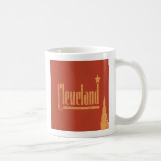 Vintage Lines Cleveland Ohio Coffee Mug