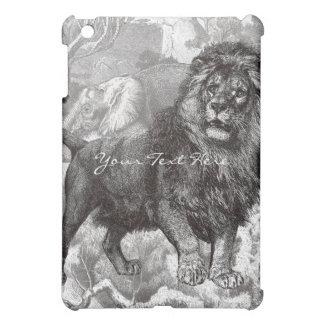 Vintage Lion iPad Case