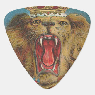 Vintage Lion King of the Beasts Plectrum