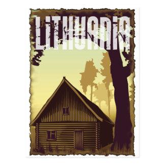 Vintage Lithuania Postcard